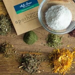Treebrush Apothecary Anti Grav Foot and Bath Soak herbal blend