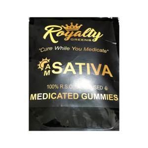 ROYALTY GREENS Gummies – Sativa (Daytime)