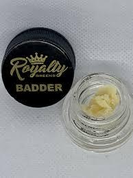 ROYALTY GREENS Obama Kush Badder ( 1 gram)