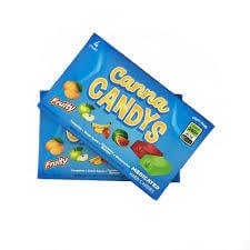 Canna Candys – Fruity Hard Candy 4 Pack, 240mg/Box