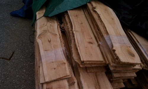 Live Edge Siding Atlantic White Cedar Sold By The