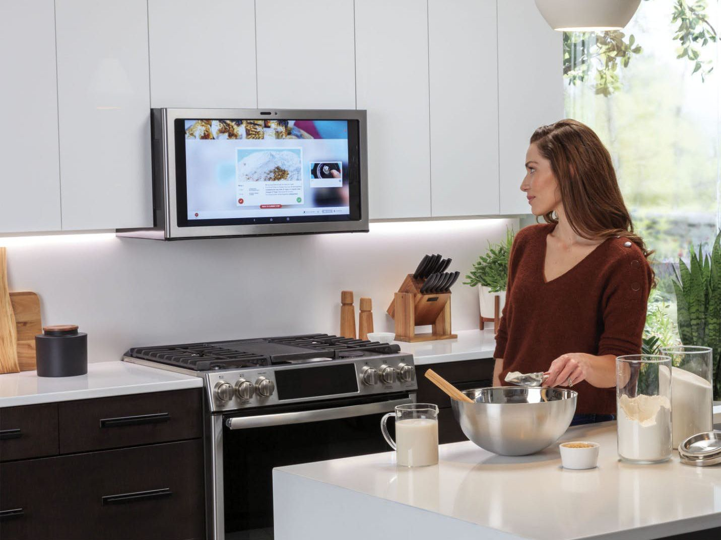 at ces the ge kitchen hub is the