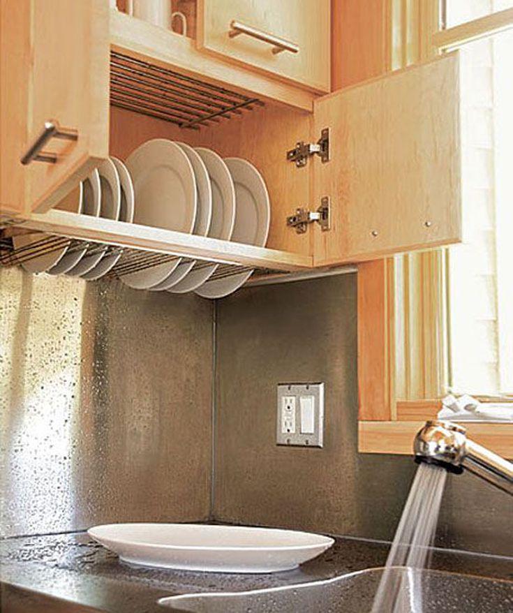 smart kitchen space saver dish drying