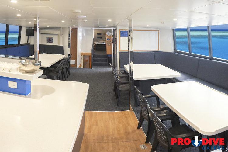 Pro Dive Cairns liveaboard vessel