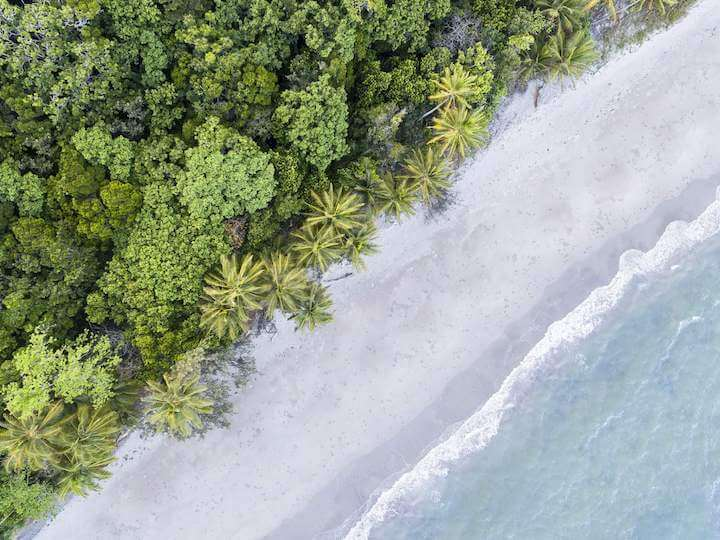 White sand beaches on your Daintree self drive adventure