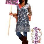 INDIAN PRINT SOUL SHINE DRESS / BLOUSE