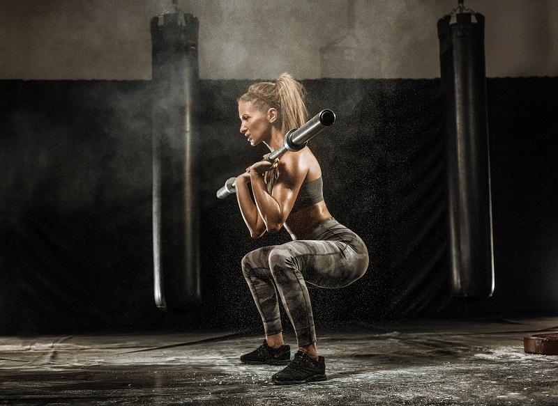 3 – jakoinen treeniohjelma naiselle