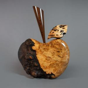 Burr Oak Apple sculpture