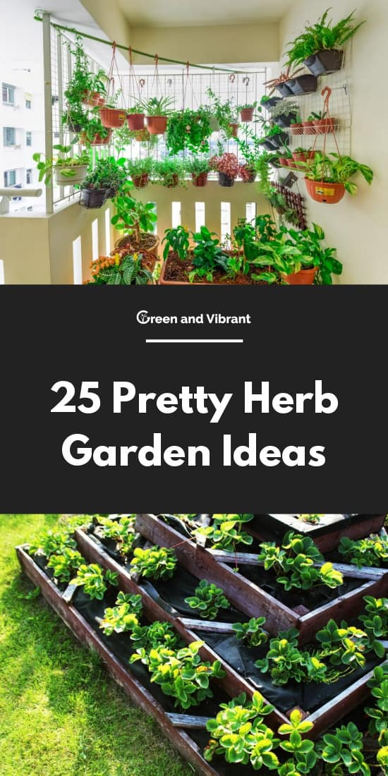 25 Pretty Herb Garden Ideas Trees Com