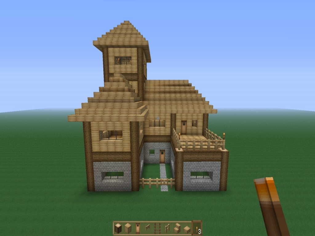 Minecraft Houses On Survival Easy Minecraft Houses