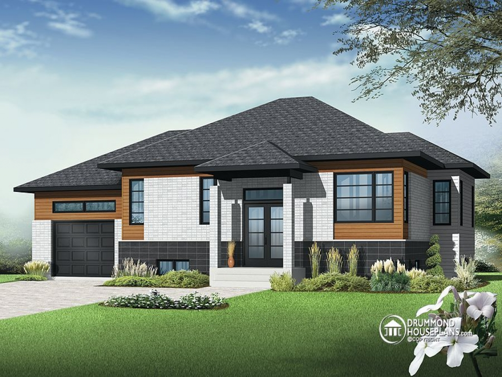 Contemporary Bungalow House Plans Small House Plans ...