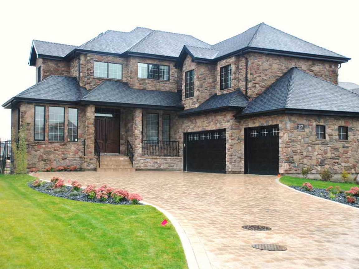 Homes With Stone Veneer Exterior Stone Veneer Houses