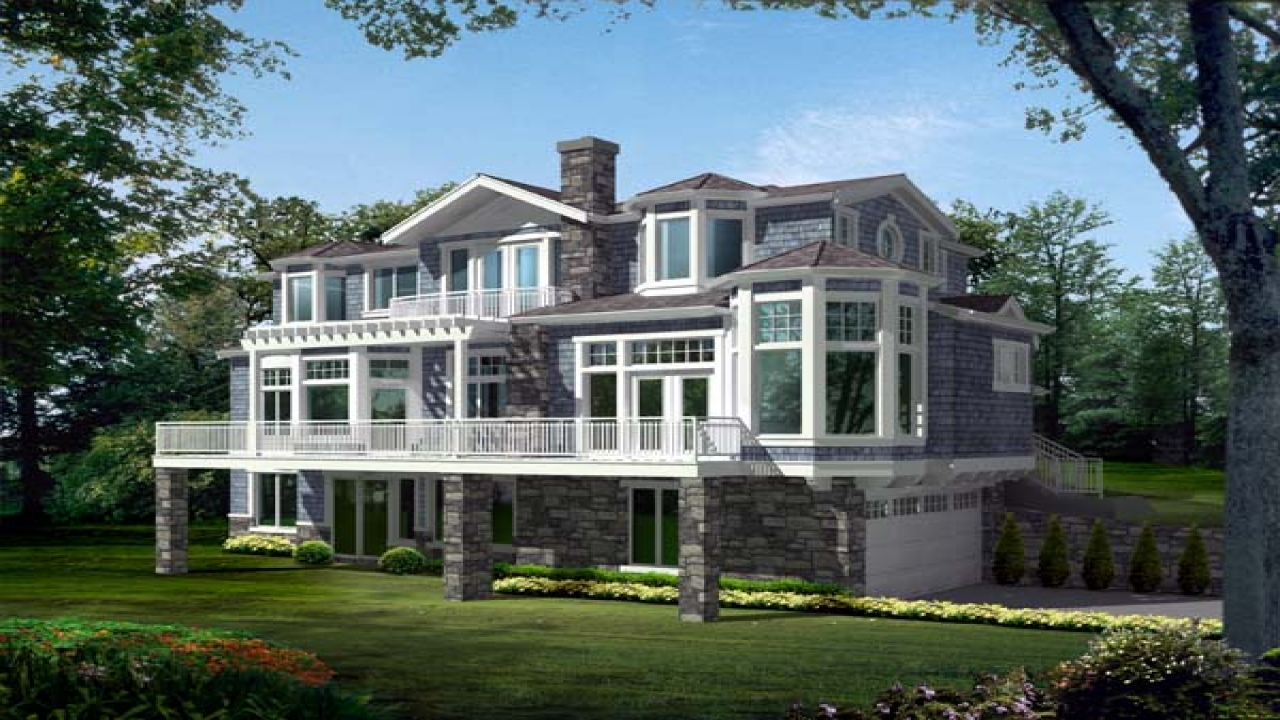 Lakefront Homes Lakefront House Plans For Homes Lakefront House Plans