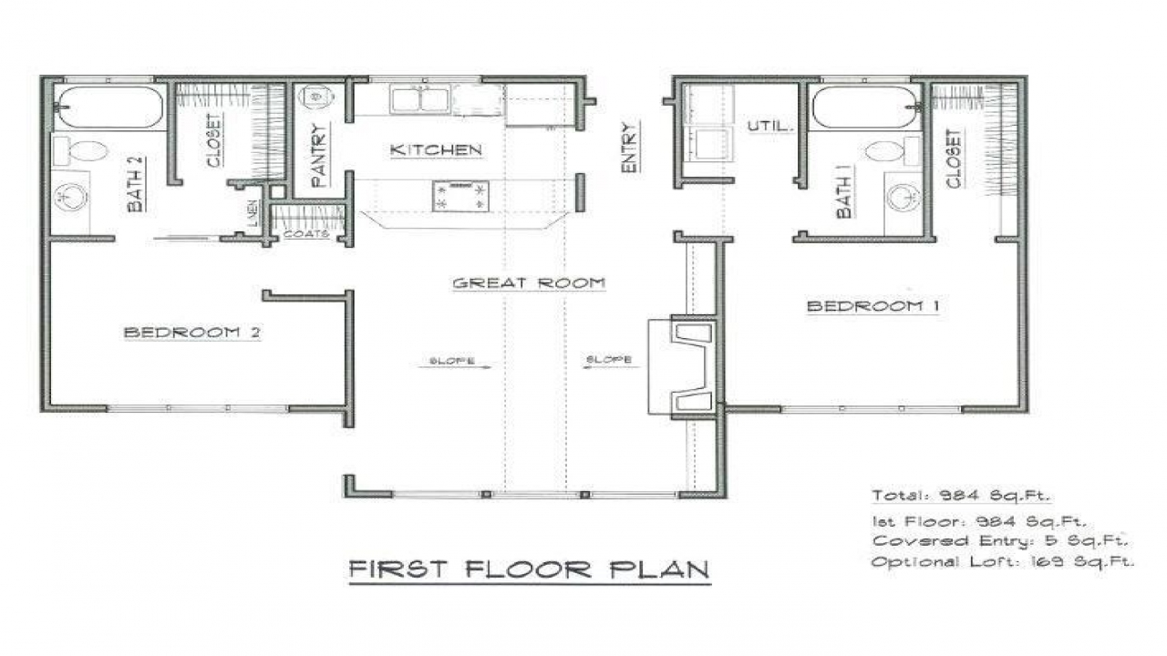 Tiny House Interior Floor Plan