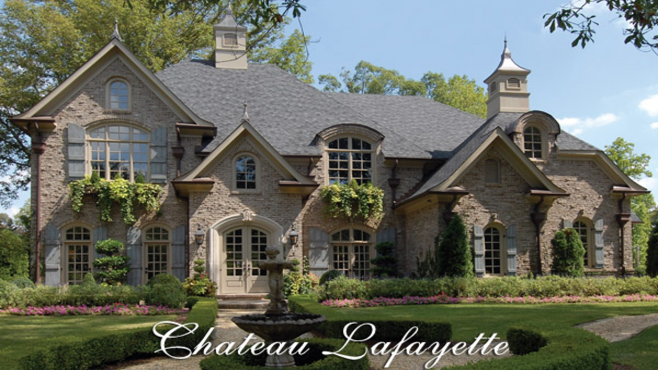 Small French Chateau French Country Chateau House Plans