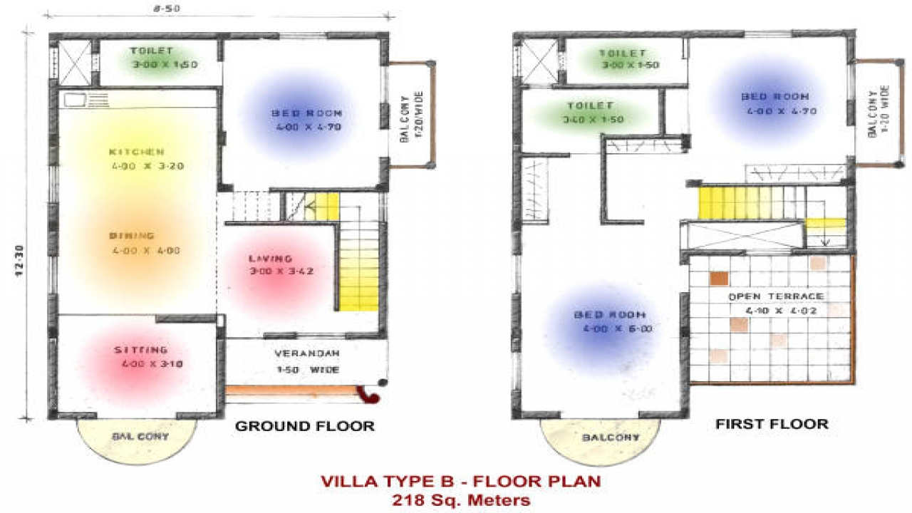 Indian House Floor Plan Blank Grid For Floor Plans