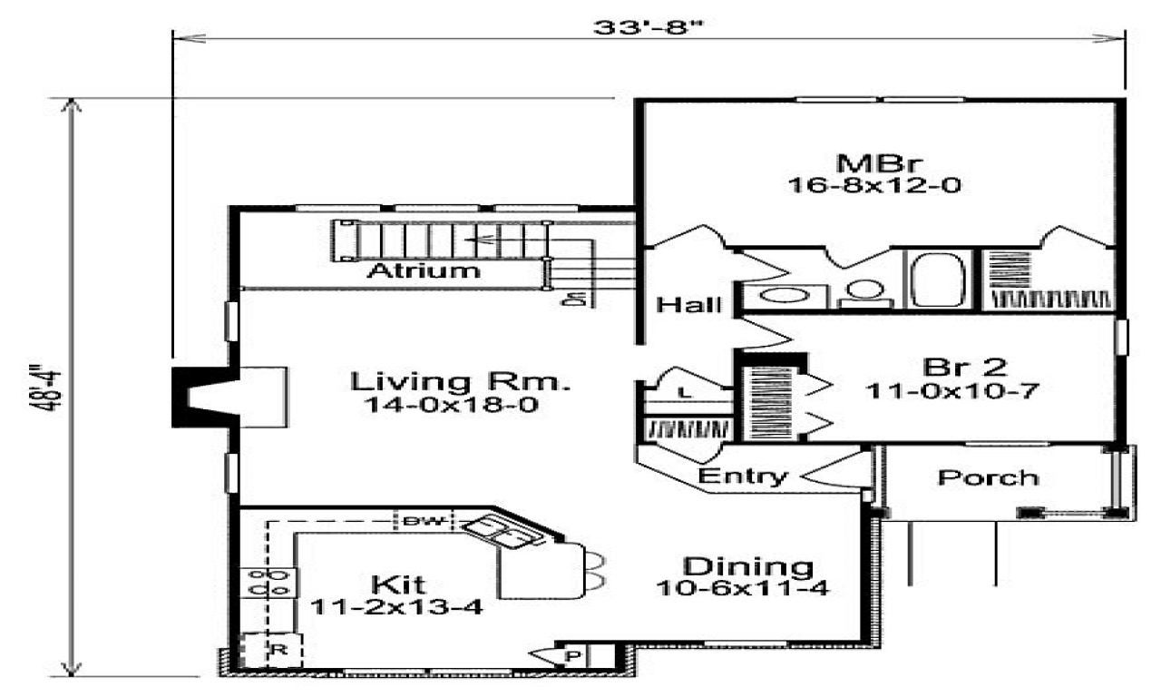 1 200 Sf House Plans House Plans Square Feet With 2