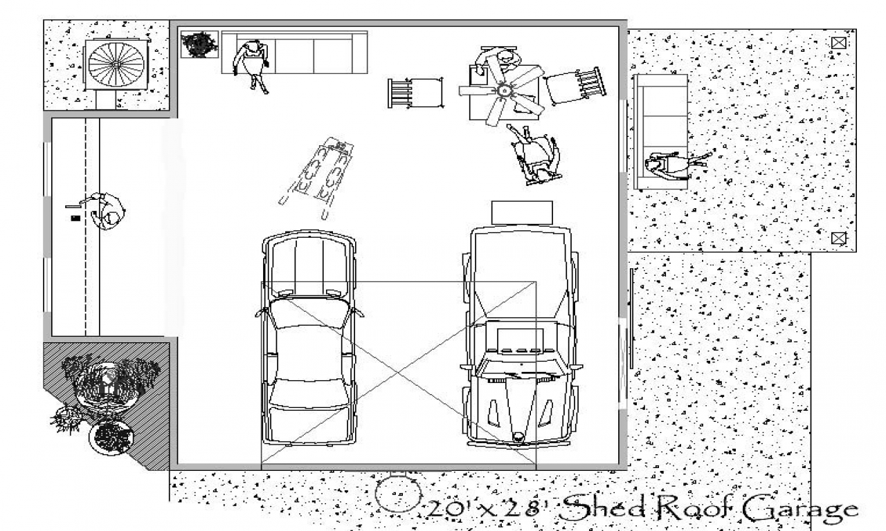 Small Garage Shop Plans Garage Shop Floor Plans Floor