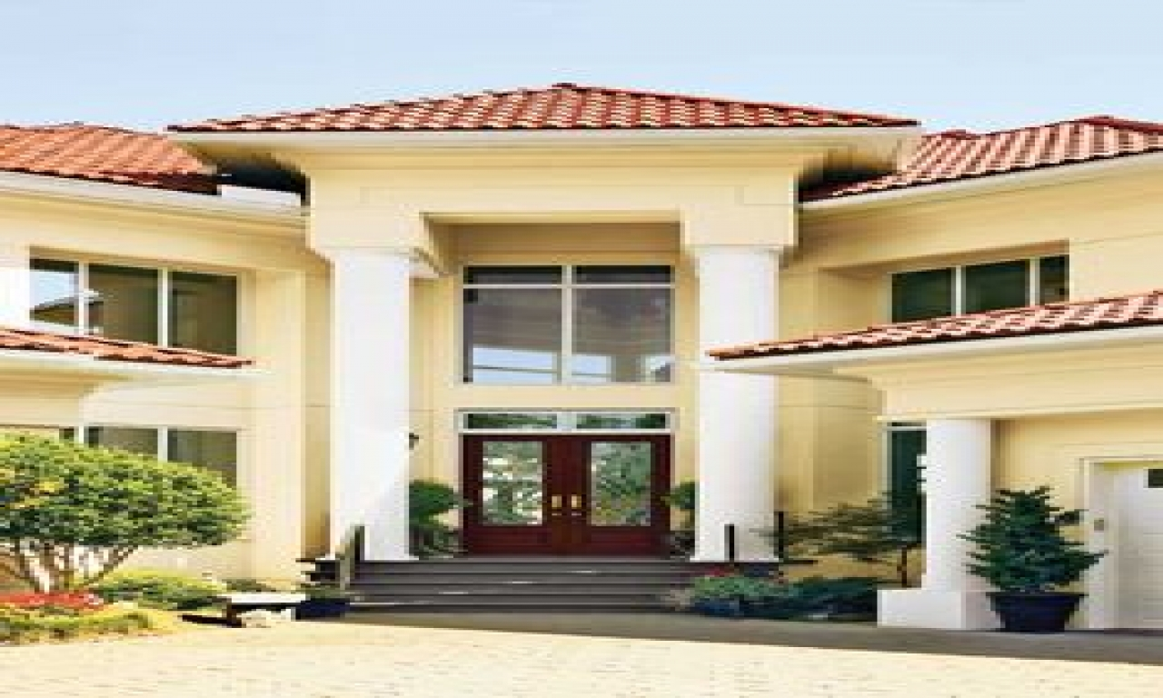 Exterior Paint Colors With Red Tile Roof Exterior Paint
