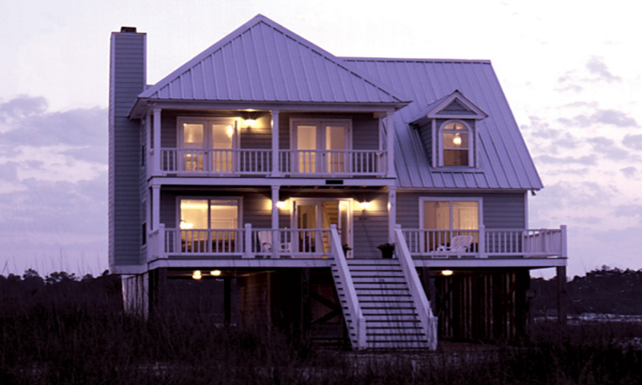 Home Plans Raised Beach House Raised Beach Homes Plans