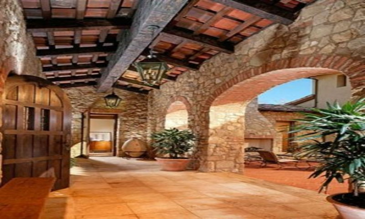 Tuscan Courtyard Landscaping Tuscan Style Landscape Design
