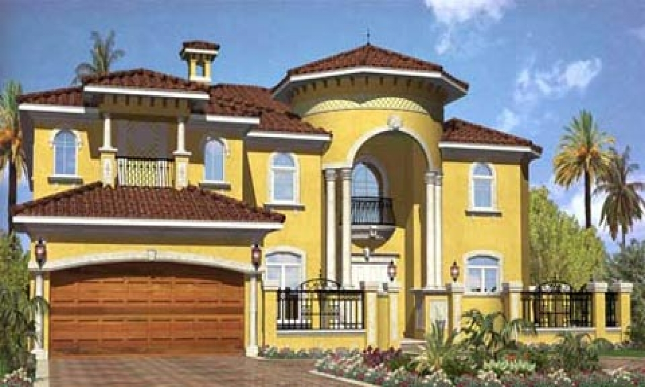 Modern Mediterranean House Plans Unique Mediterranean House Plans Mediterranean Exterior Design