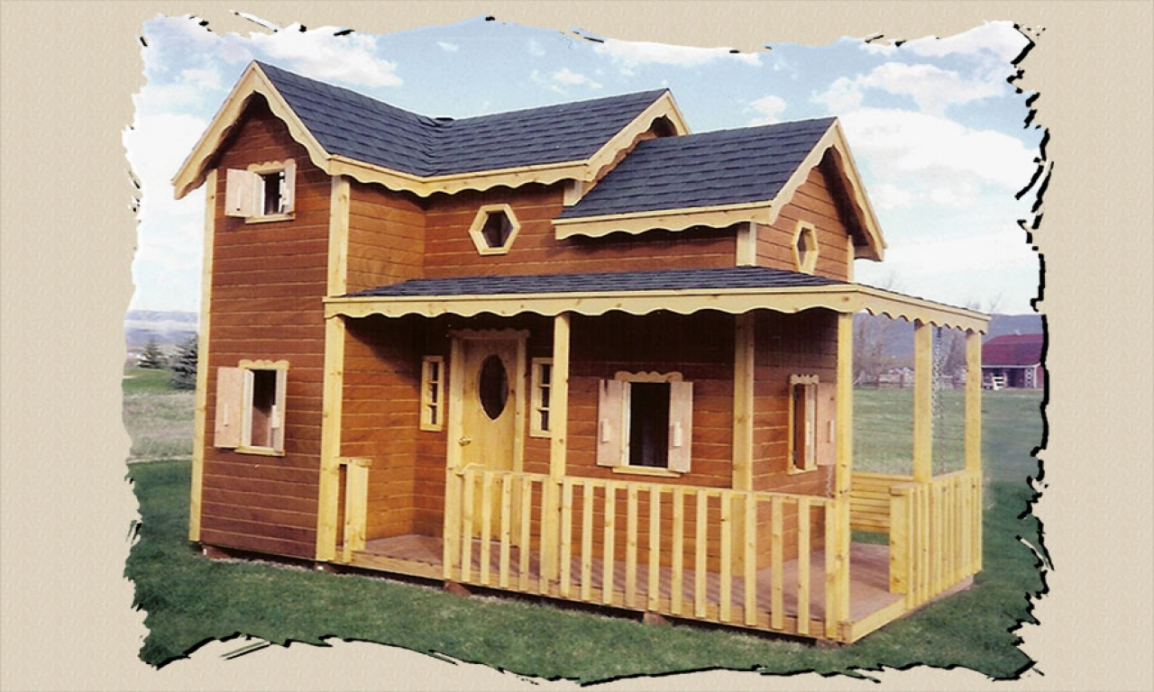 Raised Outdoor Playhouse Plans Outdoor Playhouse Plans