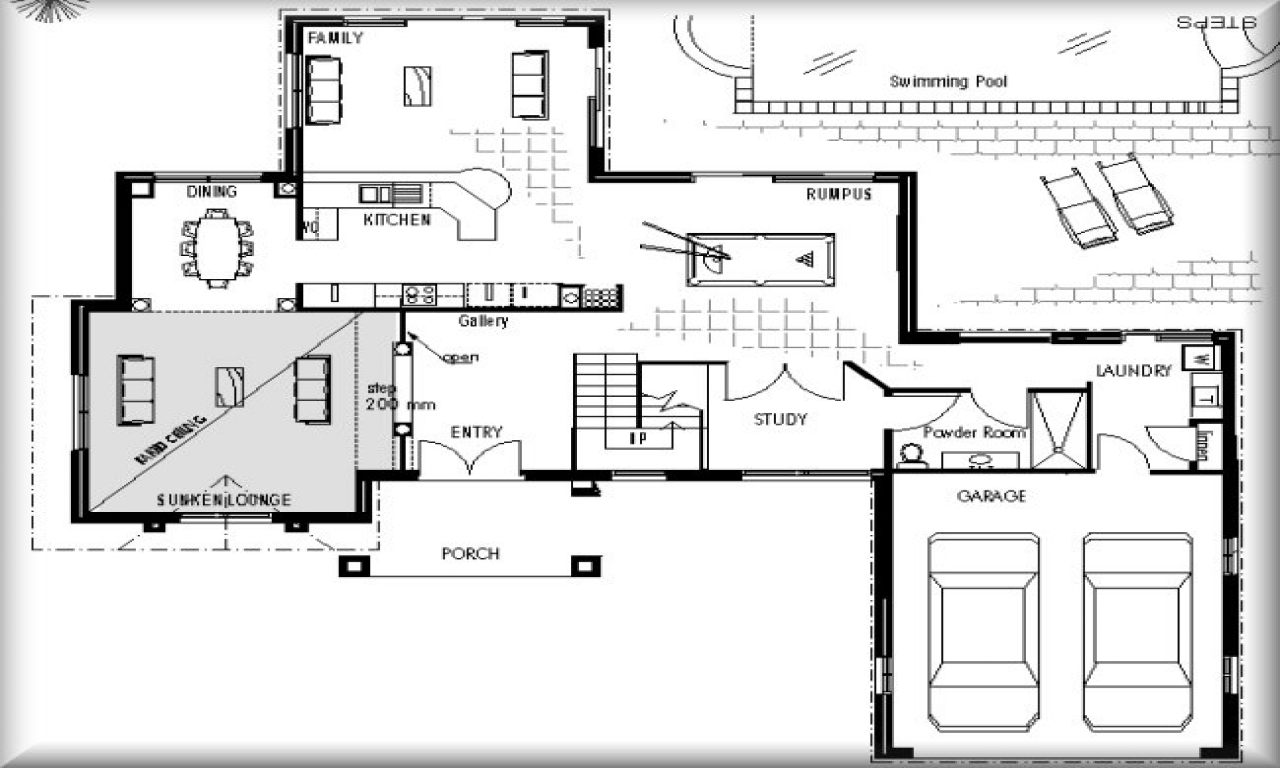 House Plans Blueprint 5 Bedroom House Plans Blueprints