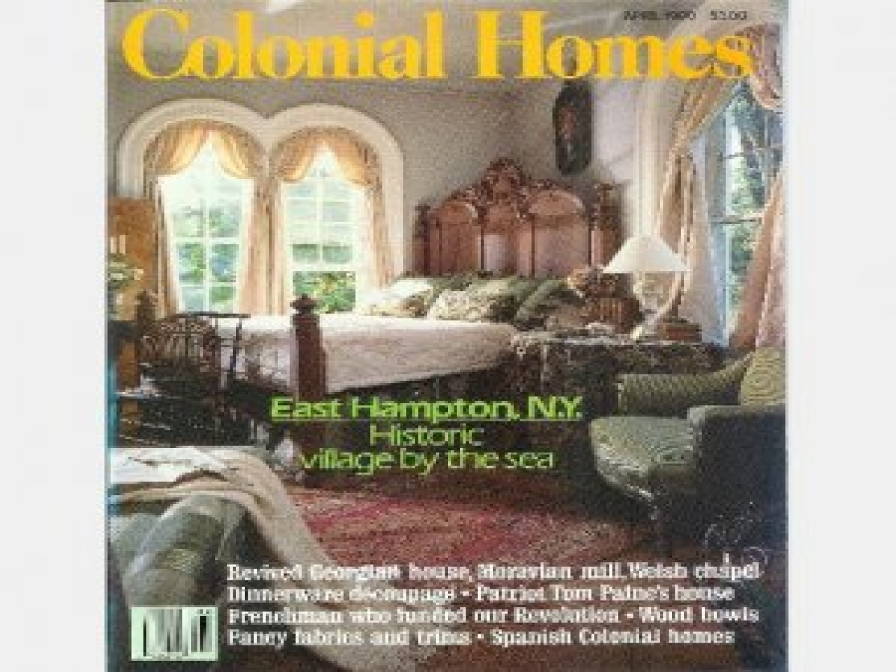 Colonial Homes Magazine Covers Colonial Primitive