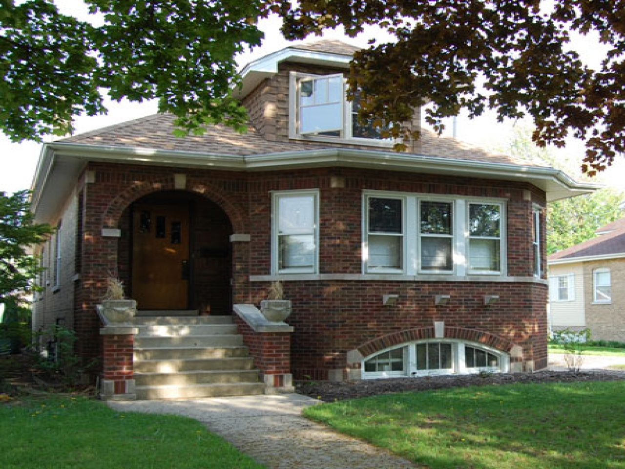Chicago Bungalow Style Homes Chicago Style Brick Bungalow