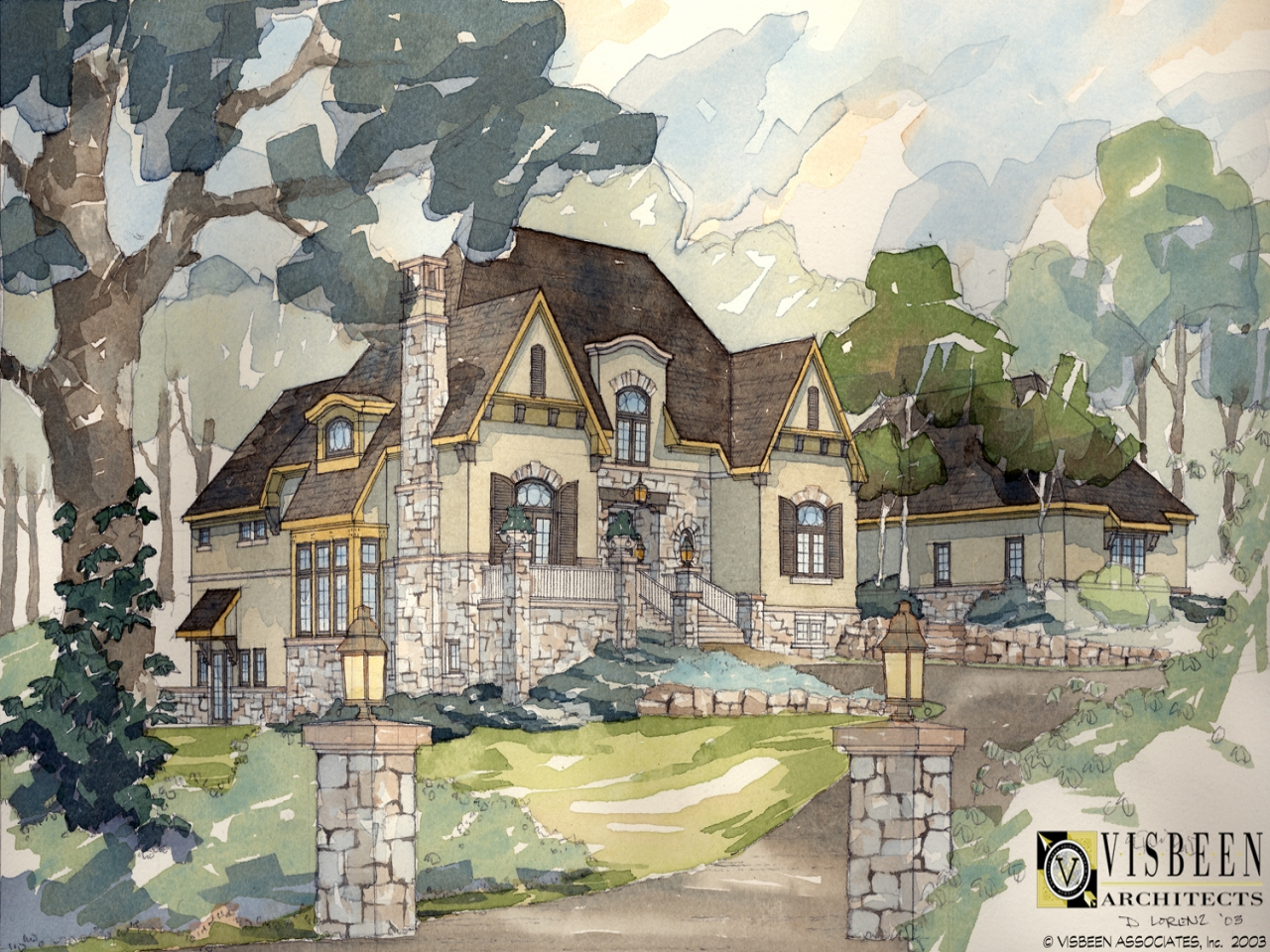 Rustic Tuscan Home Plans