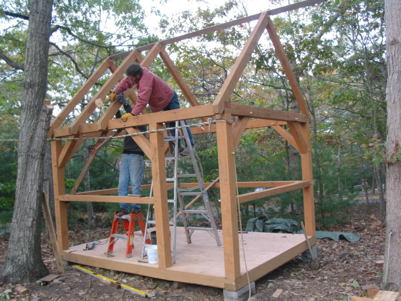 Best Small Timber Frame Homes Small Timber Frame Cabin Plans Tiny Cottages Plans