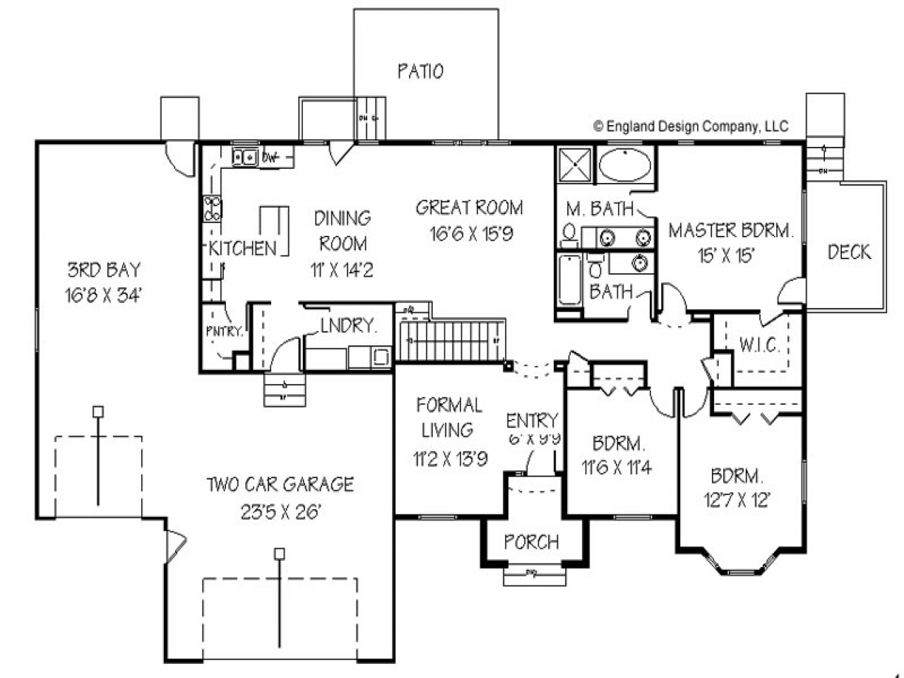 Home Addition Plans Second Floor