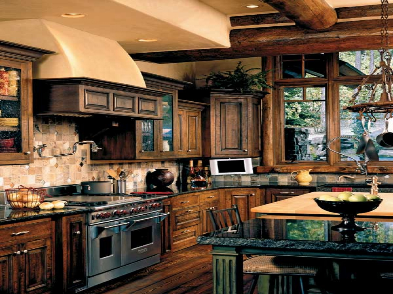 Beautiful French Country Kitchens