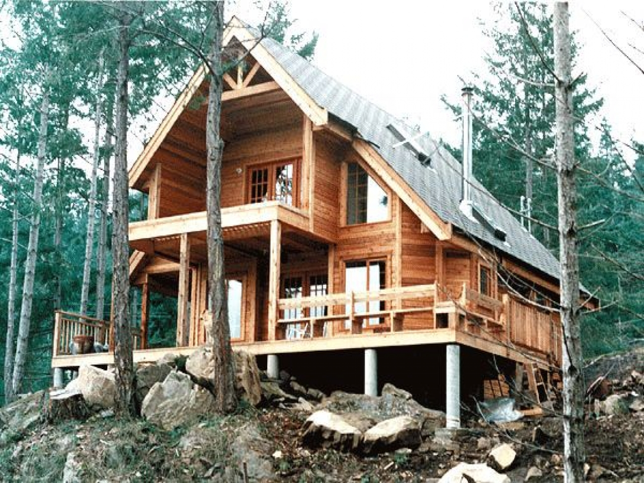 Appalachian Mountain House Plans Contemporary Cabin House