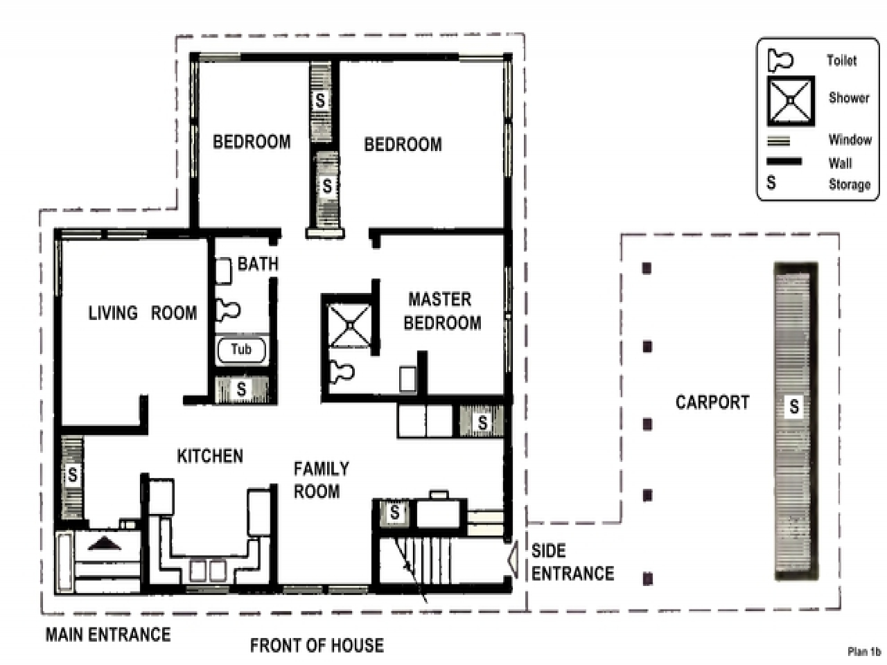Simple Two Story House Two Bedrooms Small Two Bedroom