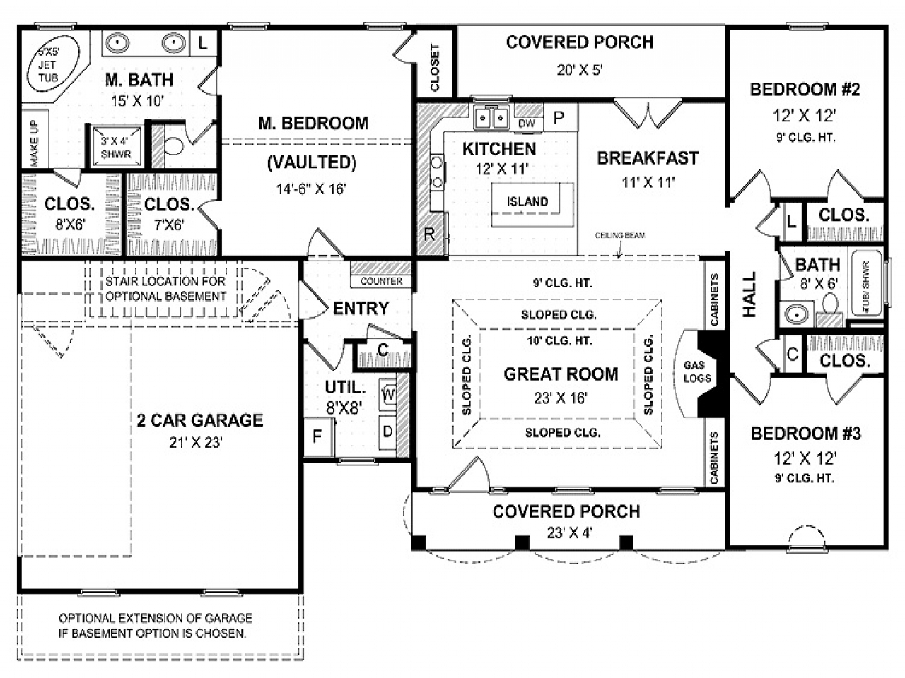 One Story House Simple Cute Small One Story House Plans