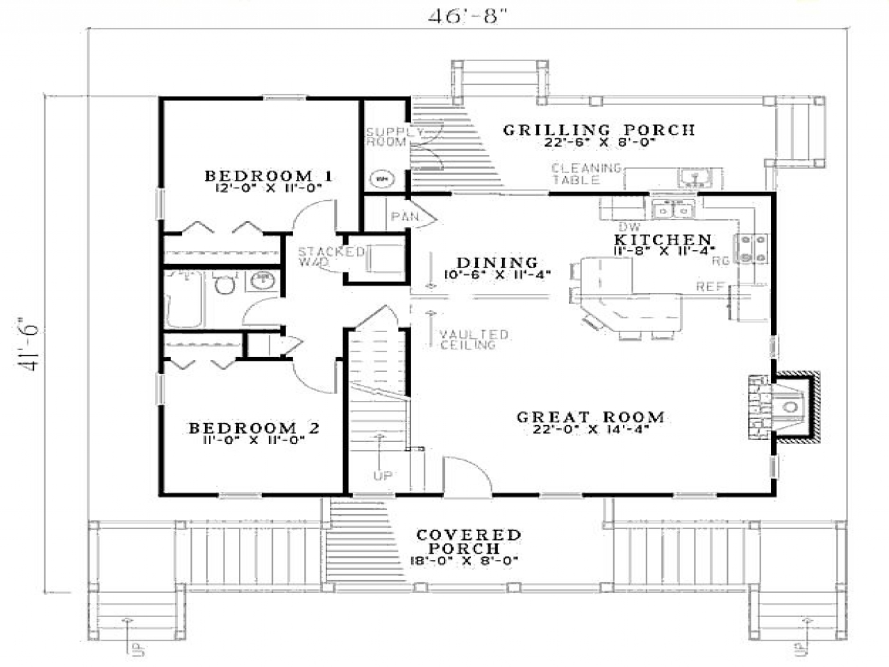 3 Bedroom Beach House Floor Plan Beach House Guest