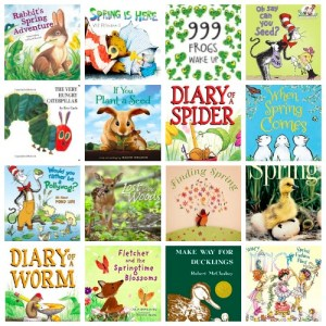 16 favourite spring books for kids