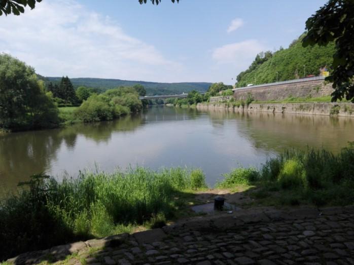 Blick auf den Ursprung der Weser