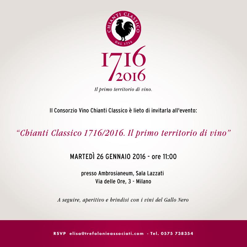 CONFERENZA STAMPA 300 ANNI CHIANTI CLASSICO – 26 GENNAIO 2016