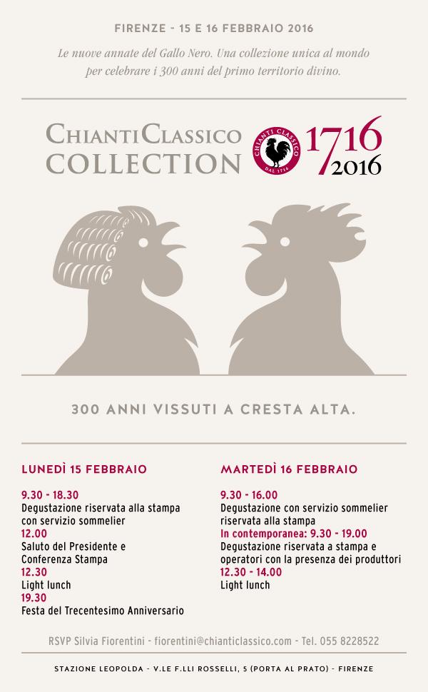 CHIANTI CLASSICO COLLECTION – 15/16 FEBBRAIO 2016