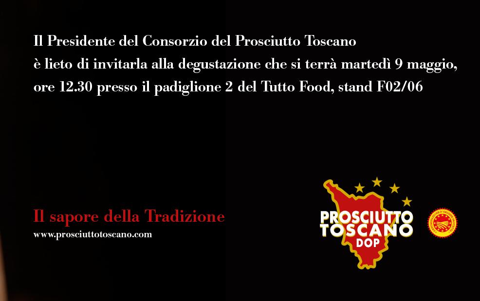 Prosciutto Toscano al Tuttofood2017