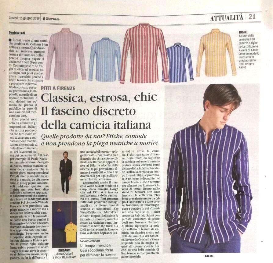 Webb & scott co- Classica, estrosa, chic il fascino discreto della camicia italiana