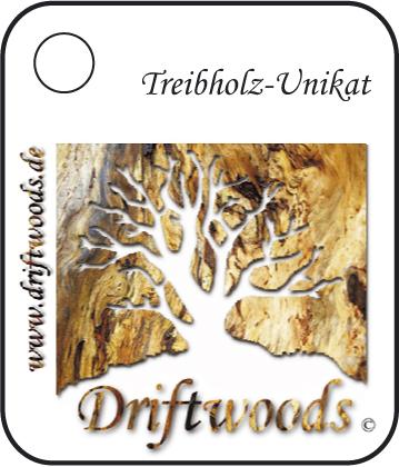 Treibholz-Unikate Logo Driftwoods