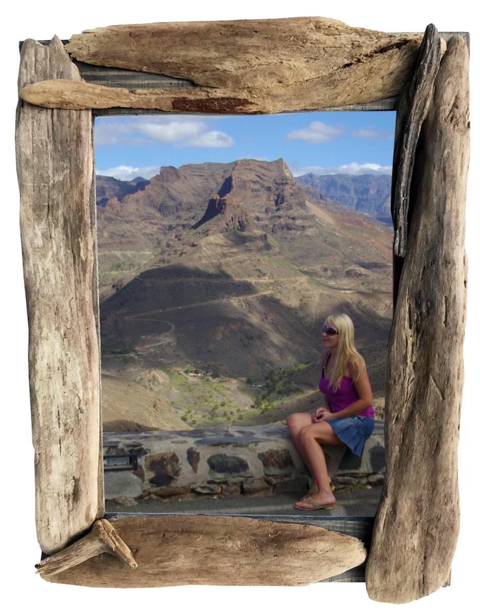 Treibholz Bilderrahmen Mittel von Driftwoods