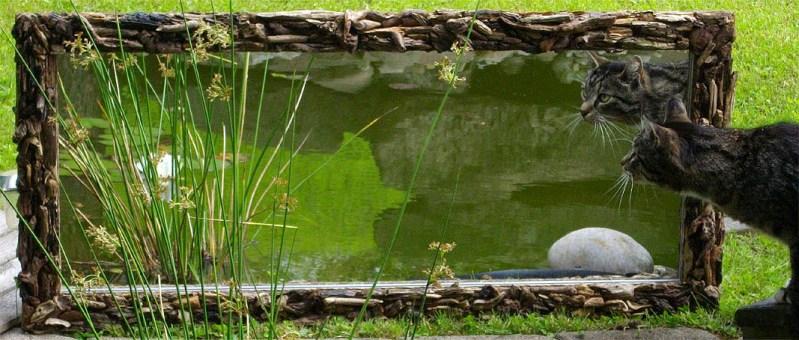 Spiegel aus Treibholz Wandspiegel