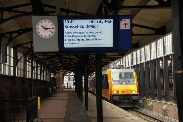 De Brusselaar, 1e verrtrek Den Haag HS 1