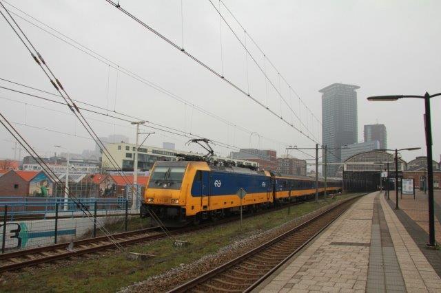 De Brusselaar, 1e verrtrek Den Haag HS laatste