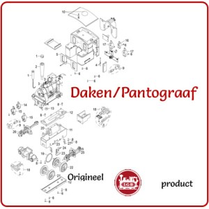 Daken / pantograaf